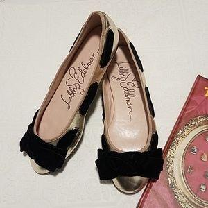 Libby Edelmann Round Toe Ballet Flats
